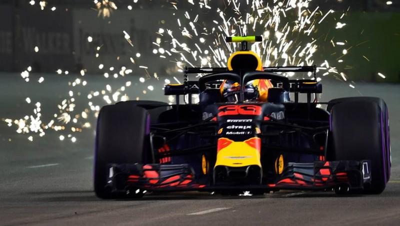 Verstapens un Rikjardo grauj konkurentus otrajā F1 treniņā Meksikā