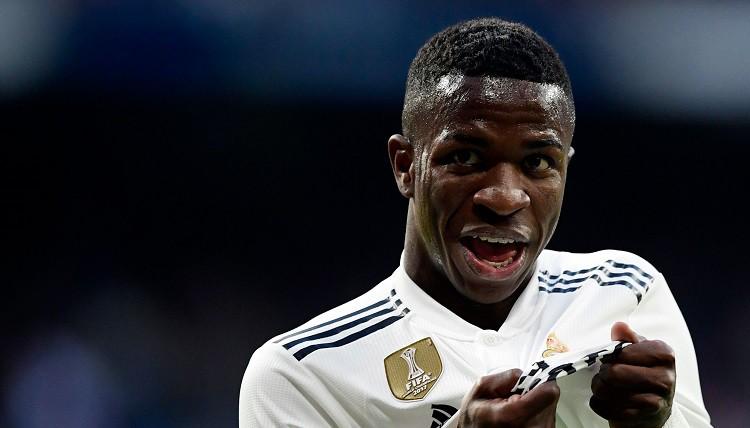 """Vinisiuss un laimīgs gadījums palīdz Madrides """"Real"""" pārtraukt melno sēriju """"La Liga"""""""
