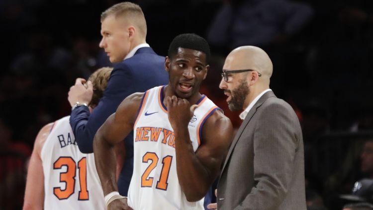 """Porziņģis pēc """"Knicks"""" trenera komentāriem publicē attēlus no sava treniņa"""