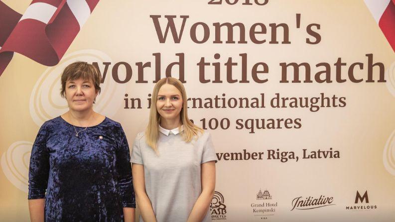 Rīgā gaidāmajā Pasaules kausa posmā dambretē startēs arī Golubeva