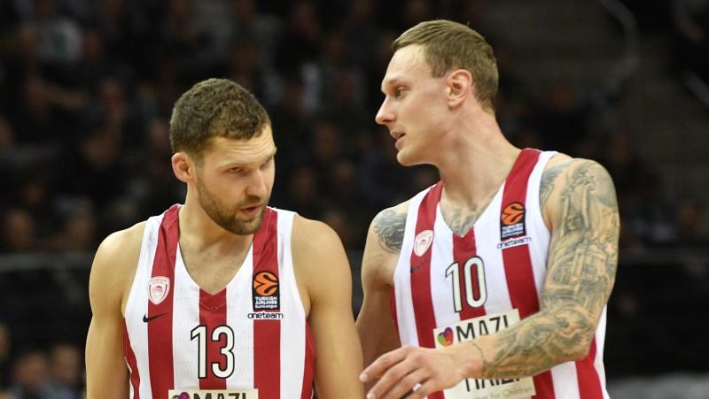 """""""Olympiacos"""" uzņems bijušo treneri, Pasečņikam duelis pret līderiem"""