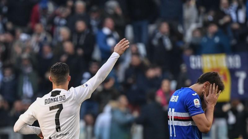 """Ronaldu nodrošina """"Juventus"""" uzvaru un kļūst par labāko snaiperi"""
