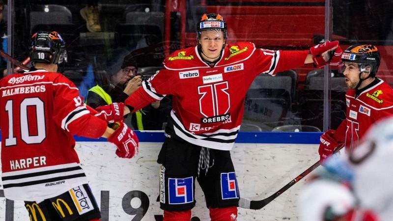 """Ābola """"Orebro"""" iekļūst Zviedrijas """"play-off"""", Merzļikinam 0-3 ceturtdaļfinālā"""
