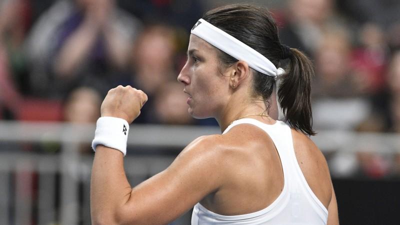 """Slovākijas tenisiste: """"Sevastova ir daudz labāka tenisiste par Ostapenko"""""""