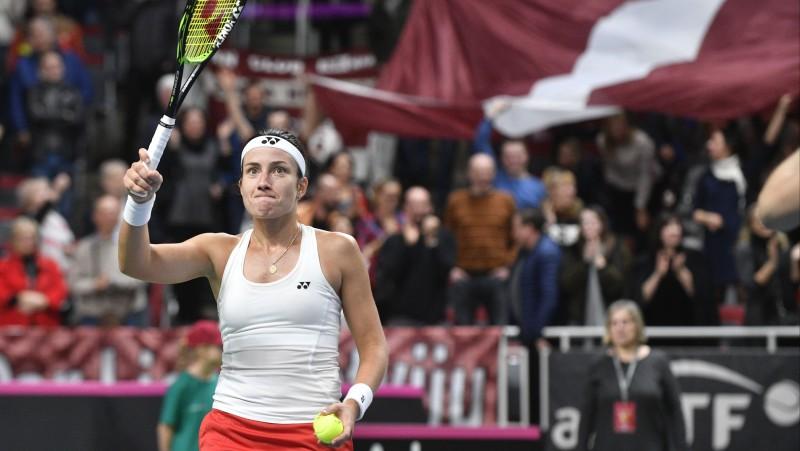 Latvijas tenisistes aprīlī savās mājās sacentīsies ar Vāciju