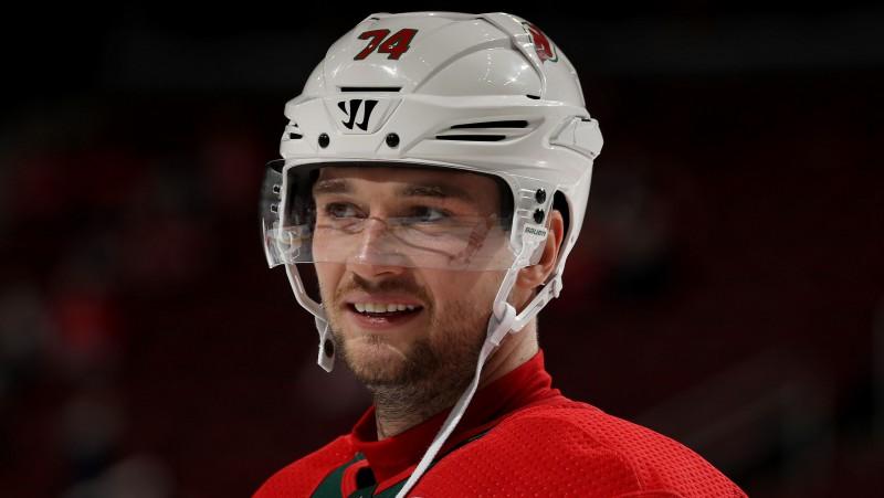 """Krievu aizsargs: """"NHL ir mans sapnis. Ja vajadzēs, stāvēšu vārtos"""""""