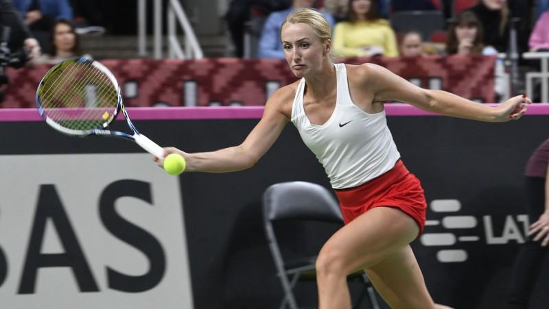Marcinkeviča zaudē ITF kvalifikācijā Francijā
