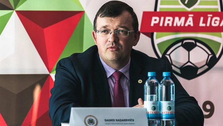 """Kazakevičs: """"Solidaritātes maksājumi jāsaņem labākajām, nevis Virslīgas akadēmijām"""""""