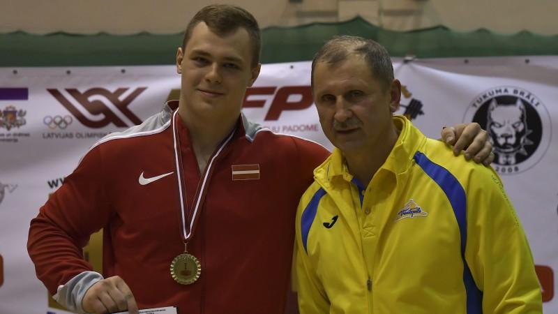 EČ piekto vietu izcīnījušais svarcēlājs Griškovs pieķerts dopinga lietošanā