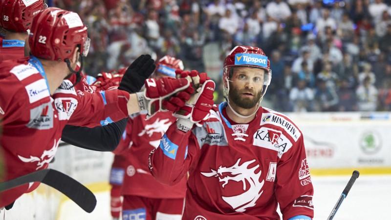 """Galviņam piespēle, """"Ocelari"""" svin otro uzvaru Čehijas līgas finālā"""