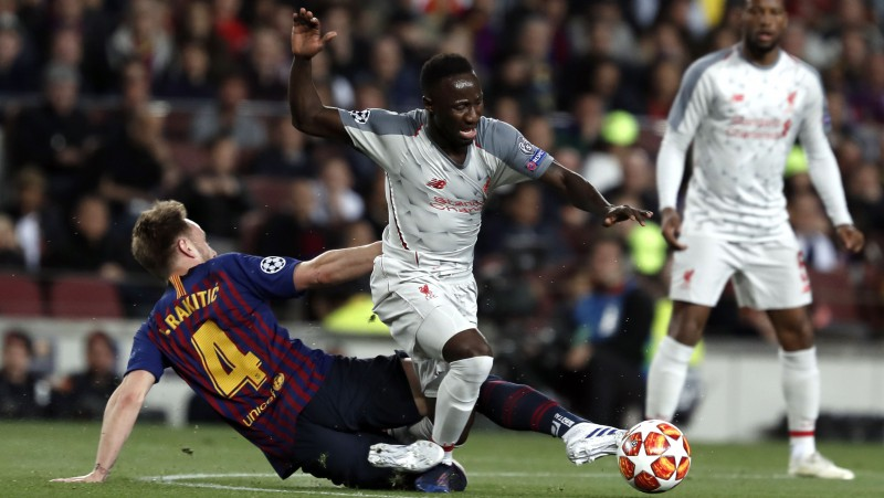 """Keitā Barselonā gūtā savainojuma dēļ nepalīdzēs """"Liverpool"""" cīņā par titulu"""