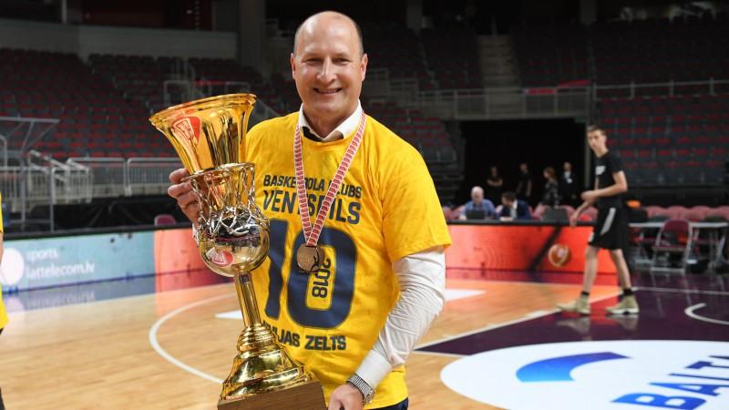 """Latvijas basketbola galvenais duelis – """"Ventspils"""" un VEF metīsies cīņā par zeltu"""