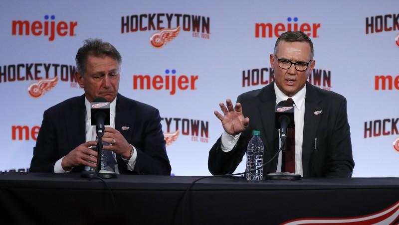 """Par """"Oilers"""" ģenerālmenedžeri kļūs vairāk nekā 20 gadus """"Red Wings"""" pavadījušais Holands"""