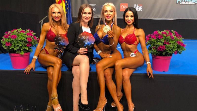 Larisa Marija Agafonova kļūst par Eiropas junioru čempioni bikini fitnesā