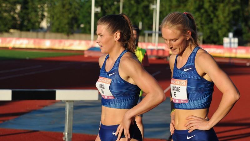 Bukša un Vaičule netiek pasaules čempionāta 200m pusfinālā