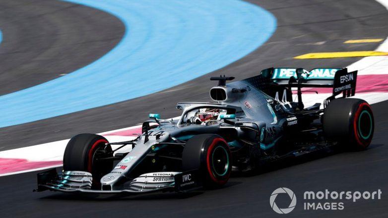 Hamiltons un Botass dominē pirmajā treniņā Francijā