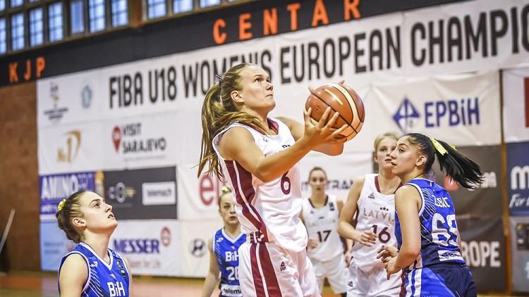 Poļu tests: U18 meitenes centīsies nostiprināt pozīcijas D grupā