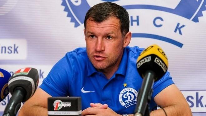 """Minskas """"Dinamo"""" treneris """"Liepājas"""" uzbrukumā izceļ savainoto balsta pussargu Hmizu"""