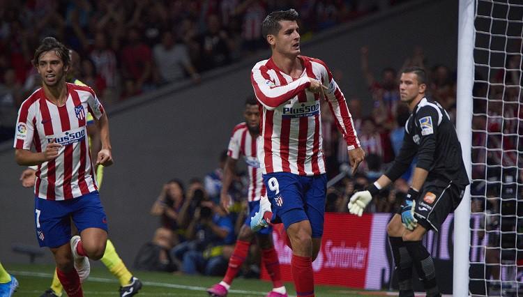 """Atletico"" sāk ar 1:0 - Tripjē rezultatīva piespēle, Moratam vārti un neiesista pendele"