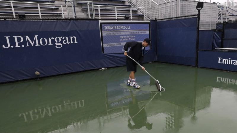 """Sevastovas """"US Open"""" mačs pārcelts uz ceturtdienu"""