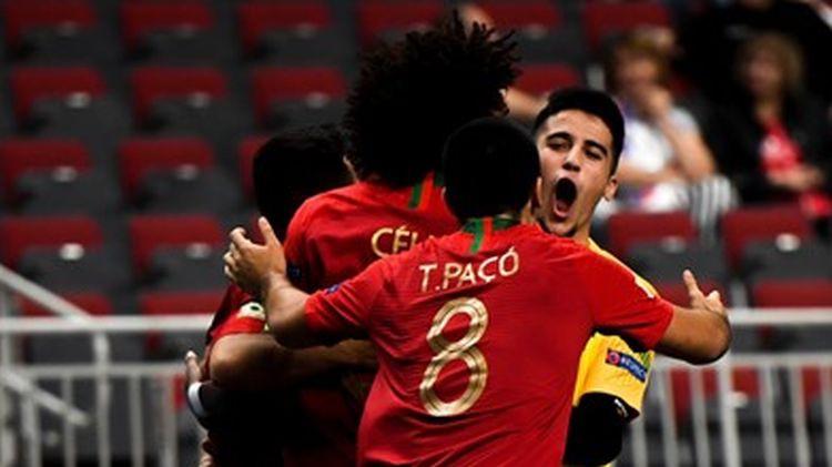 Portugāle ar uzvaru pār poļiem atstāj Latvijas U19 izlasei nelielas cerības uz EČ pusfinālu