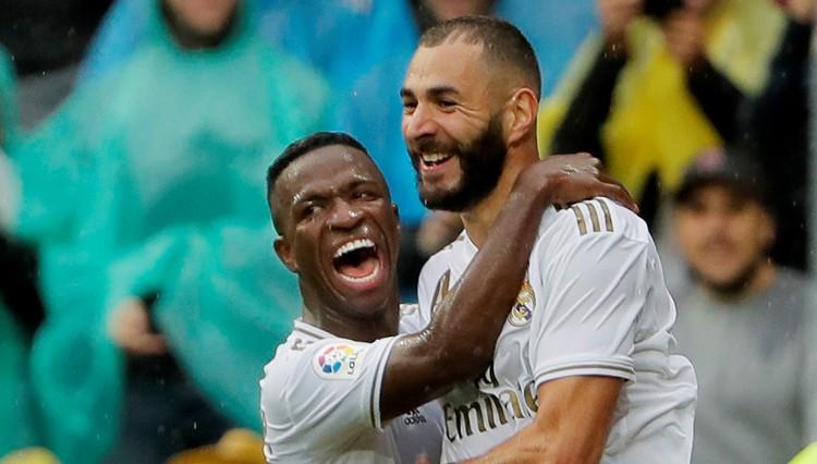 """Benzemā divi vārti, Azārs un Militau debitē, Madrides """"Real"""" nervozi uzvar"""