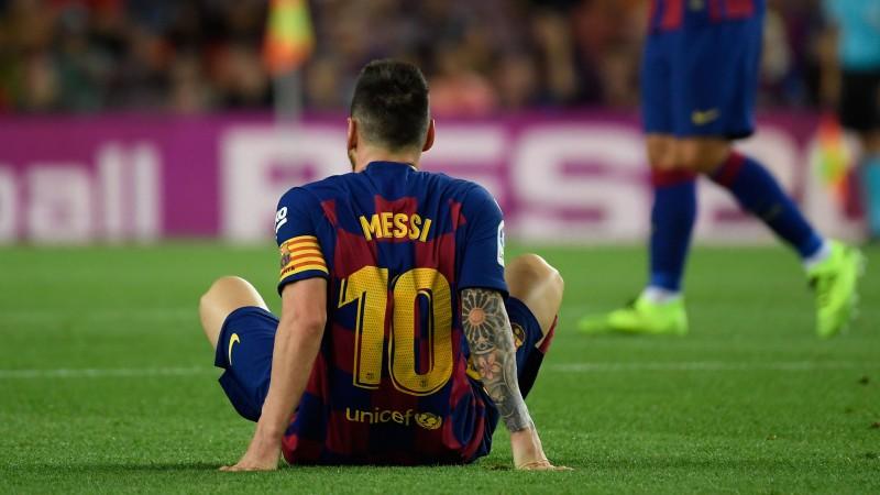 """Savainotais Mesi nebūs pieejams nākamajā """"Barcelona"""" spēlē"""