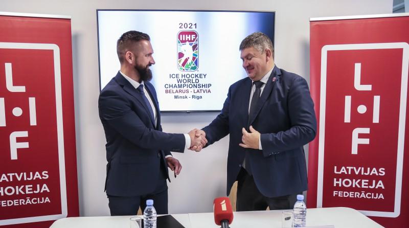 LHF 2021. gada PČ rīkošanas tiesības oficiāli nodod meitas uzņēmumam