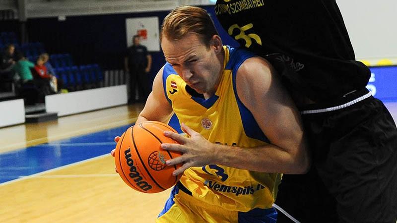 """""""Ventspils"""" FIBA kausa ievadā sabradā Vācijas Bundeslīgas komandu"""