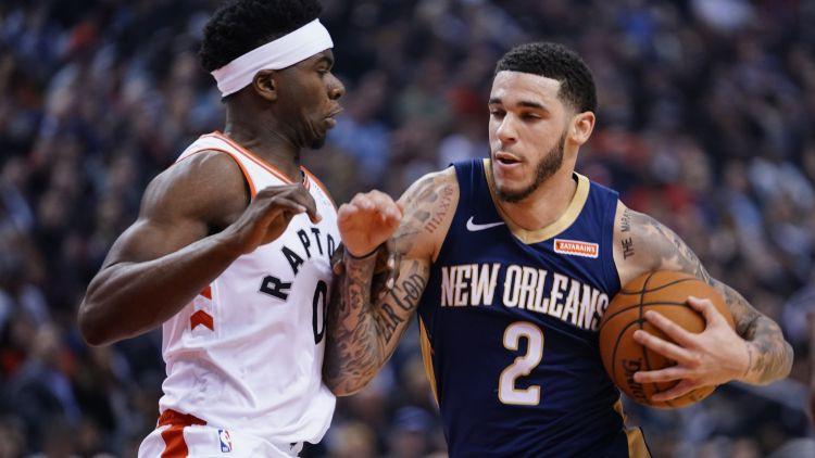 """NBA sezona sākas ar """"Raptors"""" uzvaru papildlaikā pār Ņūorleānu"""