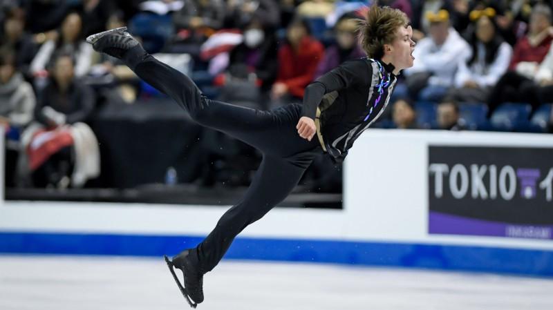 """Vasiļjevs """"Grand Prix"""" otrajā posmā izcīna ceturto vietu īsajā programmā"""