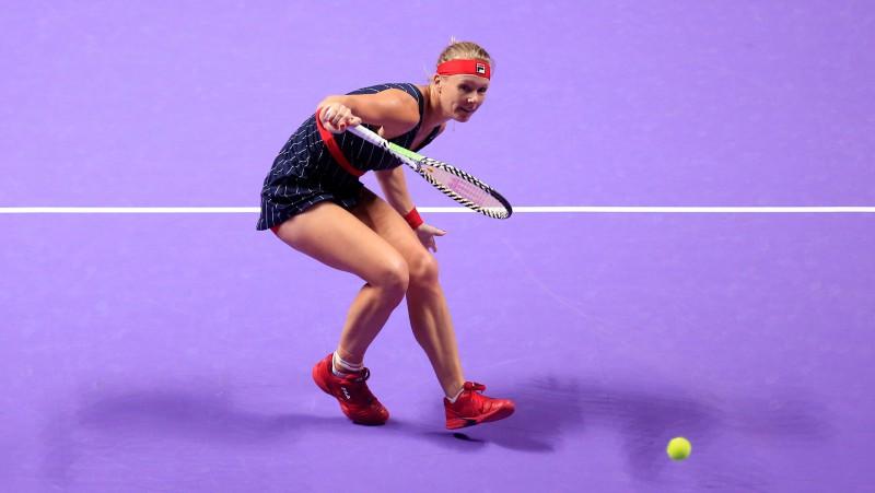"""""""WTA Finals"""" rezerviste Bertensa uzvar ranga līderi Bārtiju"""