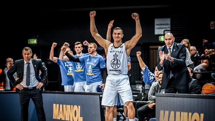 """Buškevics un """"Neptūnas"""" satriec ACB līgas vicelīderi, Meiers drāmā zaudē """"Unicaja"""""""