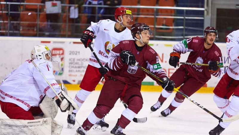 U20 izlase Baltkrievijas turnīra ievadā piedzīvo sauso zaudējumu