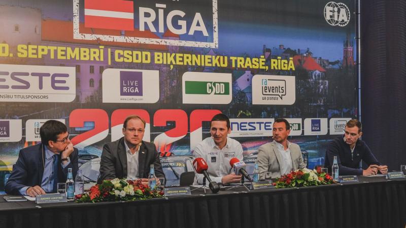 """""""World RX"""" pārstāvis: """"Vēlējāmies, lai rallijkrosa posms Rīgā saglabā savu vietu"""""""