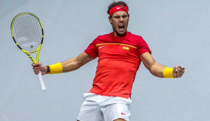 Divas Nadala uzvaras aizved Spāniju uz pusfinālu pret britiem