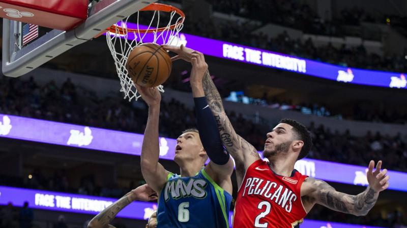 """Porziņģim 13 punkti, Dončičs atkārto Džordana rekordu, """"Mavericks"""" +46"""