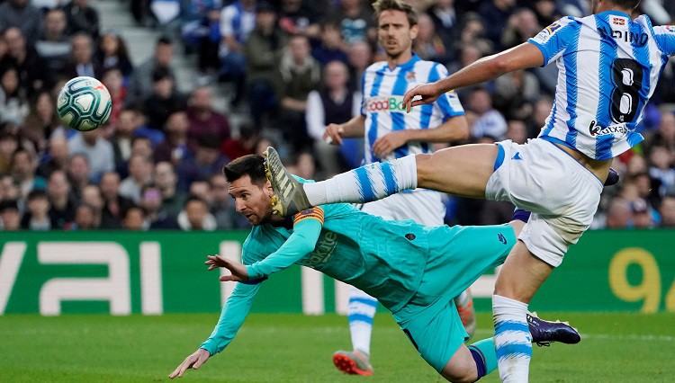"""Pārtrūkst """"Barcelona"""" sešu uzvaru sērija, vadība """"La Liga"""" var tikt zaudēta"""