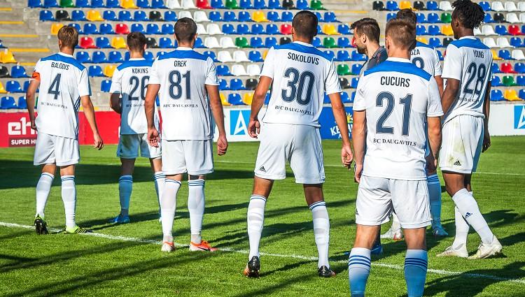 """""""Daugavpils"""": Askerovs un Ofors sasit pusi; jauniešu daudz, un viņi spēlē"""