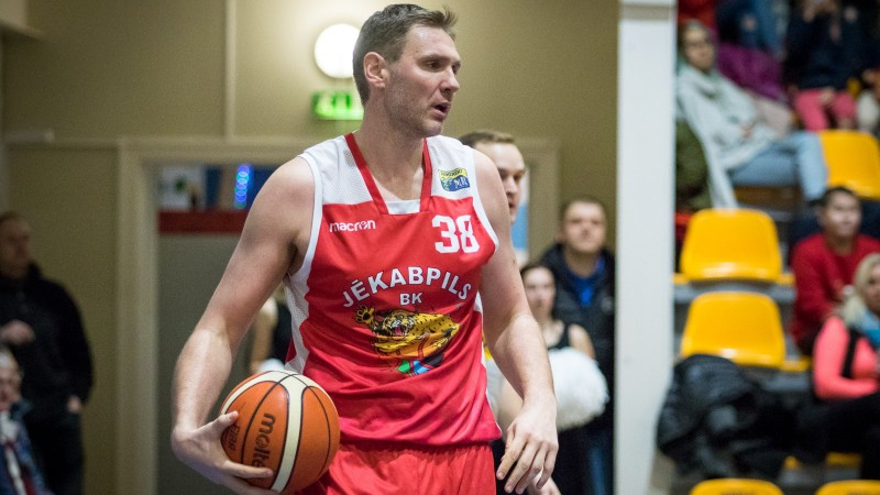 """LBL2: Sokolovs, Aleksejevs un Cipruss kopā iemet 83 punktus, """"Jēkabpils"""" turpina uzvaru gājienu"""