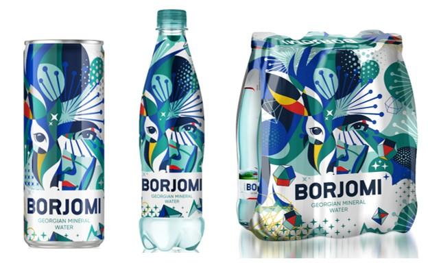 """""""Borjomi"""" nāk klajā ar īpašu svētku karnevāla iepakojuma dizainu"""