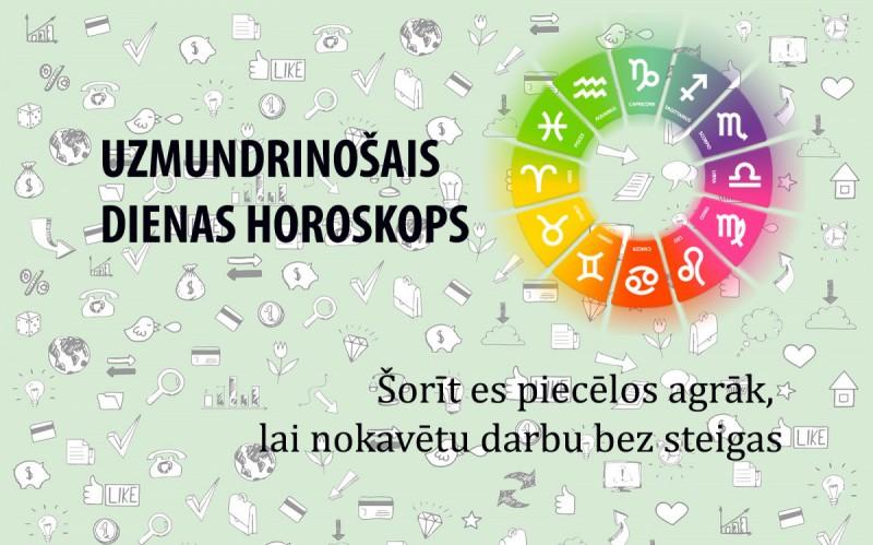 Uzmundrinošie horoskopi 22. janvārim