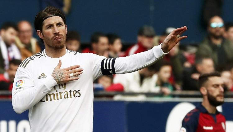 """Medijs: """"Real"""" pagarinās līgumu ar Ramosu vēl uz vienu gadu"""