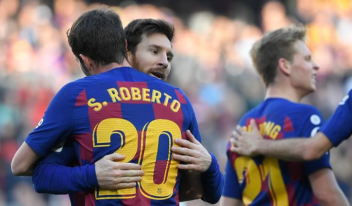 """Mesi atkal neiesit, """"Barcelona"""" ne bez pūlēm uzveic uz viļņa esošo """"Getafe"""""""