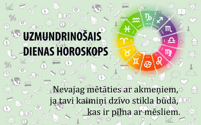 Uzmundrinošie horoskopi 15. martam visām zodiaka zīmēm