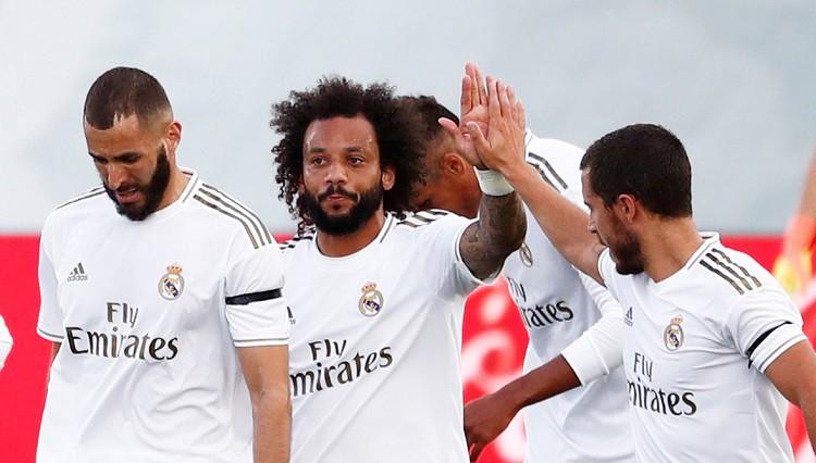 """Madrides """"Real"""" atgriešanās mačā iesit uzticamie Kross, Ramoss un Marselu"""