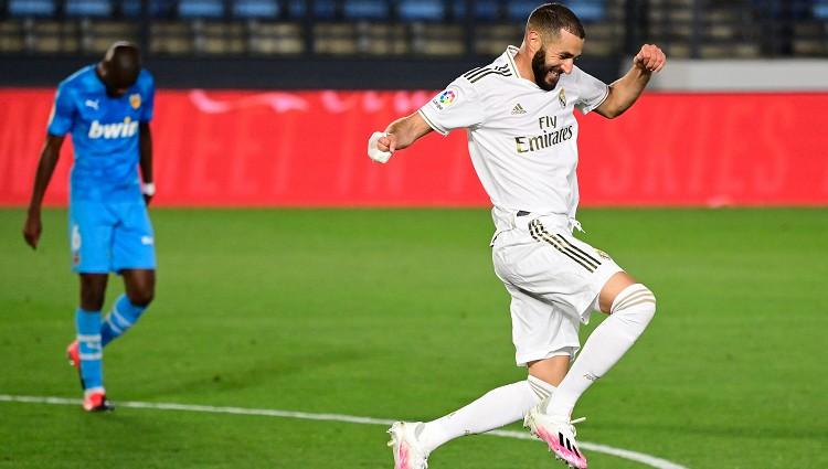 """Madrides """"Real"""" ar trim skaistiem vārtiem salauž """"Valencia"""" pretestību"""