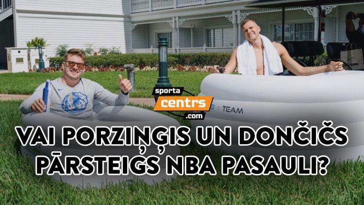 """Šovakar NBA """"Sporta tarkšķis"""": par Porziņģi, Kurucu un Pasečņiku, sezonai atsākoties"""