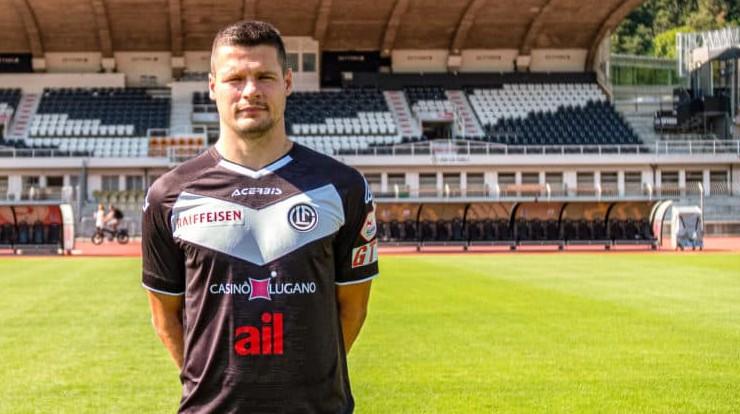 Latvijas izlases aizsargs Mārcis Ošs oficiāli kļuvis par Lugāno spēlētāju
