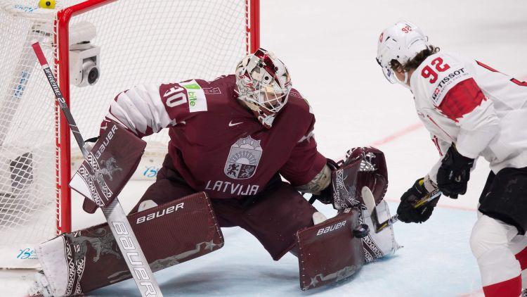 Latvijas hokeja izlasei atcelts decembrī paredzētais pārbaudes turnīrs